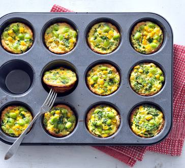 Mini Veggie Quiches image