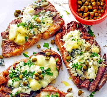 Bunless Philly Cheese Strip Steaks image