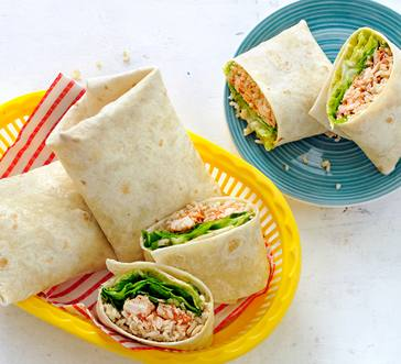 Chicken and Rice Burritos image