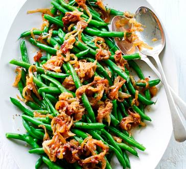 Green Beans with Slow Cooker Caramelized Onions image