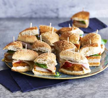 Chicken Parm Sliders image