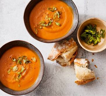 Curried Carrot-Ginger Soup image