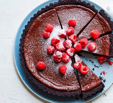 Chocolate-Coffee Truffle Tart image