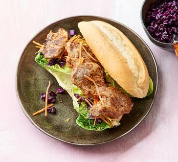 Pork Tenderloin Banh Mi Sandwiches image