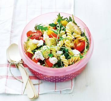 Fusilli Pasta Salad with Artichokes image