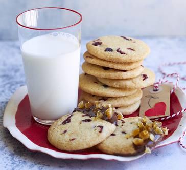 Lemon-Cranberry Icebox Cookies image
