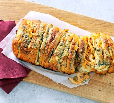 Buffalo Chicken Pull-Apart Loaf image