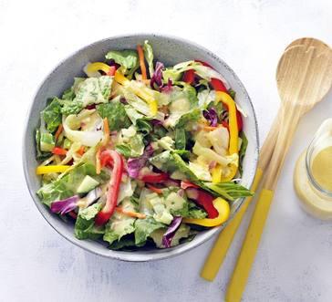 Green Salad with Sweet Mustard Vinaigrette image
