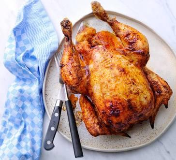 Chili-Rubbed Instant Pot Rotisserie Chicken image
