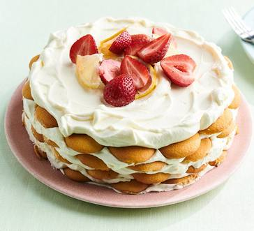 Vanilla-Lemon Icebox Cake image