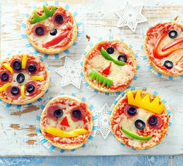 English Muffin Pizzas image