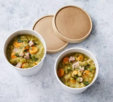 Slow Cooker Split Pea Soup image