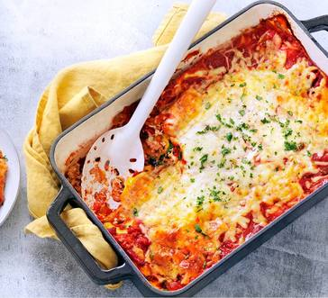 Ravioli Bake with Peppers image