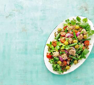 Tuna and Lentil Salad image