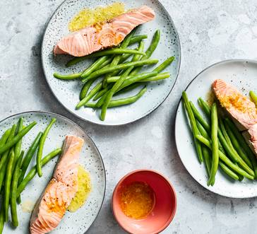 Poached Salmon with Citrus Butter image