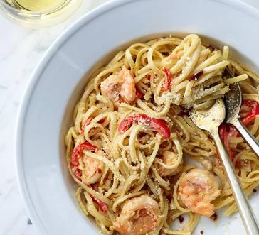 Spicy Shrimp Diablo Linguini image