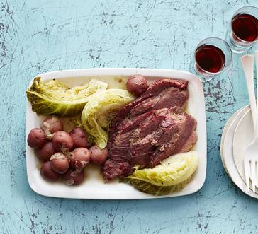 Corned Beef with Cabbage image