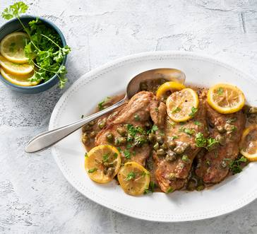 Pork Chop Piccata image