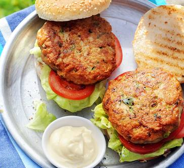 Inside-Out Turkey Cheeseburgers image
