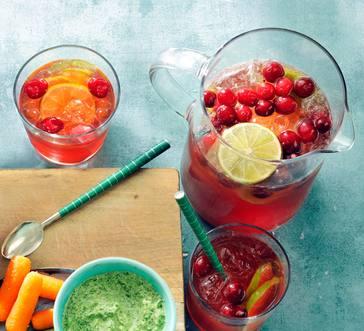 Cranberry Spritzers image