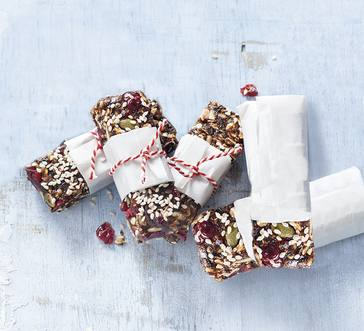 Fruit and Nut Energy Bars image