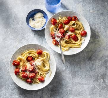 Spaghetti with Butter-Roasted Tomatoes image