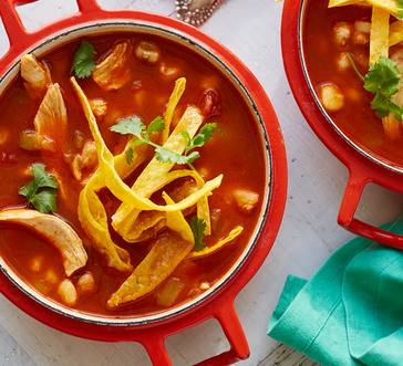 Posole with Green Chilies image