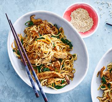 Korean Stir-Fry with Pork and Asian Noodles image