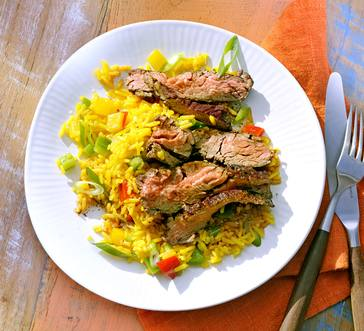 Grilled Jerk Steak image