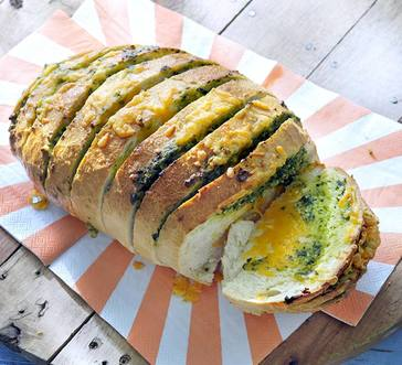 Cheesy Stuffed Bread image