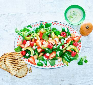 Avocado and Strawberry Salad image