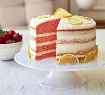 Strawberry-Lemonade Layer Cake image