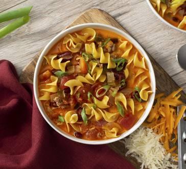Chili Mac and Cheese Soup image
