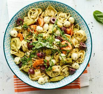Tricolor Tortellini Salad image