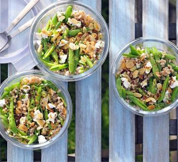 Farro Salad with Mustard Vinaigrette image