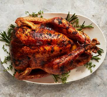 Cider-Glazed Turkey and Gravy image