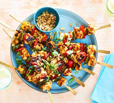 Kung Pao Chicken Skewers image
