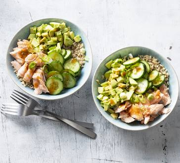 Salmon Rice Bowl image