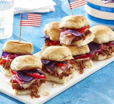 Pulled Pork Sandwiches with Pickled Peppers image