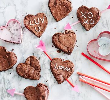 Flourless Chocolate Hearts image
