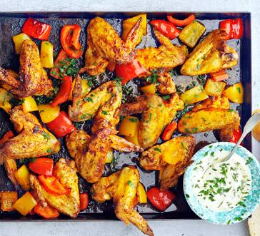 Spanish-Style Chicken and Peppers image