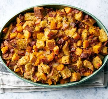 Bacon–Butternut Squash Stuffing image