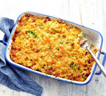 Southern-Style Mac and Cheese Casserole image