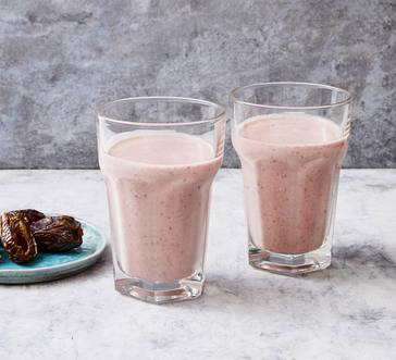 Strawberry-Almond Butter Smoothie image