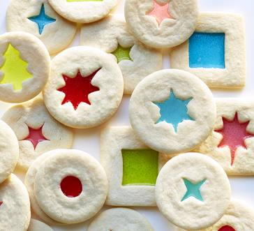 Cookie Dough Stained Glass Cookies image