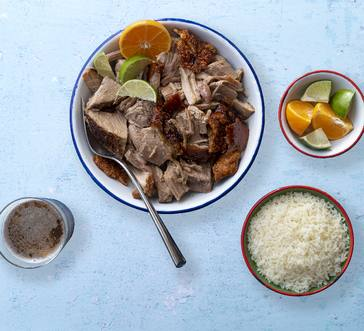 Puerto Rican Roasted Pork Shoulder image