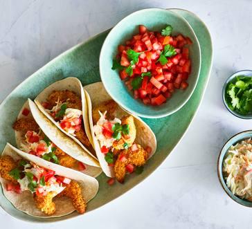 Crispy Shrimp Tacos image