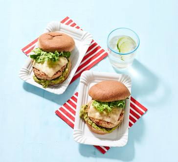 California Turkey Salsa Burgers image