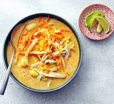 Thai Chicken Soup with Gnocchi Dumplings image