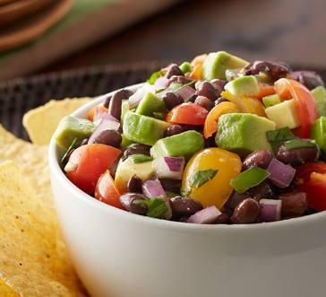 Tomato, Avocado and Black Bean Salsa image